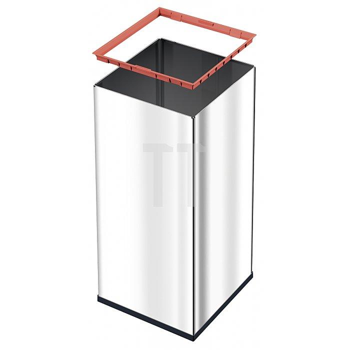 Hailo Großraum Abfallbox Big Box Touch 80 schwarz 0880-401