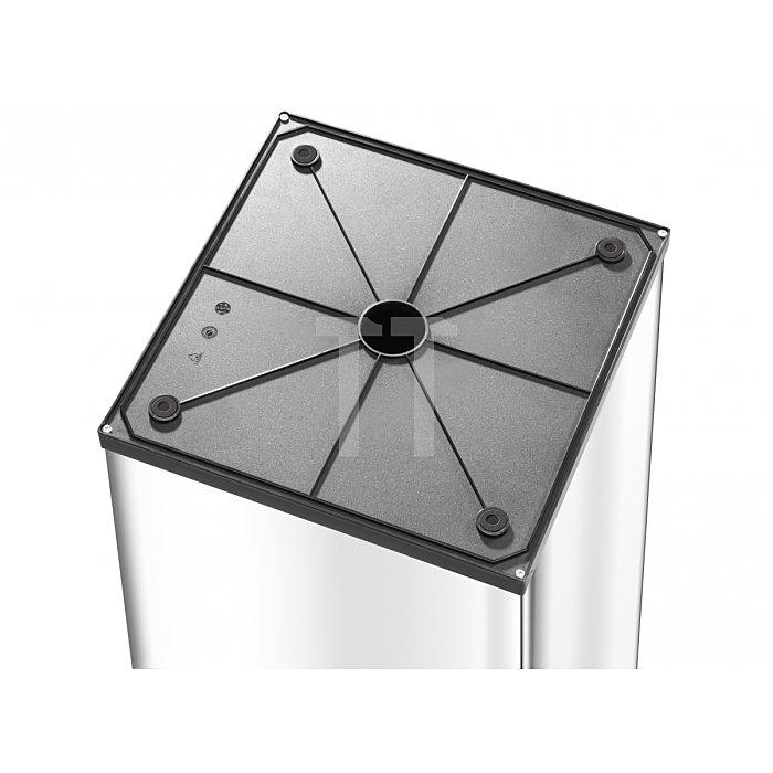 Hailo Großraum Abfallbox Big Box Touch 80 silber 0880-301