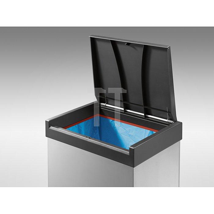 Hailo Großraum-Abfallbox BigBox Touch 60 Edelstahl 0860-102