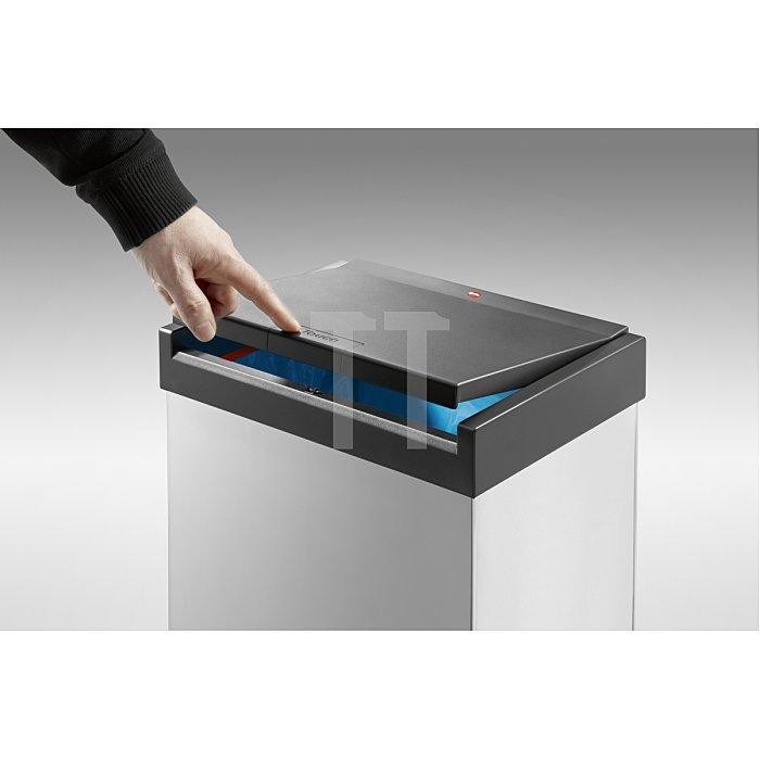 Hailo Großraum-Abfallbox BigBox Touch 60 silber 0860-602