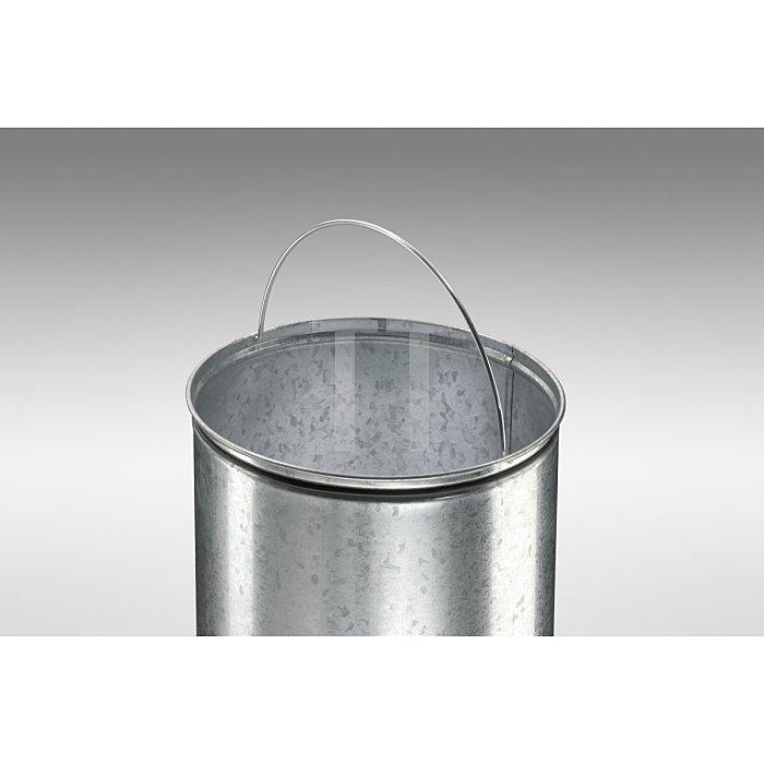 Hailo Großraum-Abfallbox Kick Maxx 50 Rot Inneneimer: verzinkt 0850-579