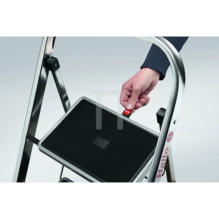 Klapptritt 2Stufen Alu. Stand-H.460mm H900xB470xT50mm geklappt Gewicht 3,3kg