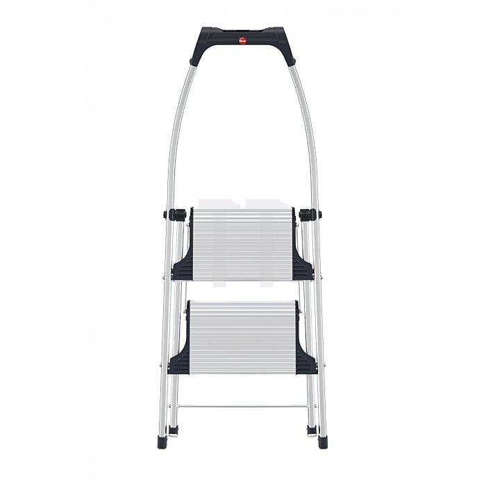Hailo LivingStep Comfort plus 2 Stufen Klapptritt mit Soft-Grip Sohle 4302-301