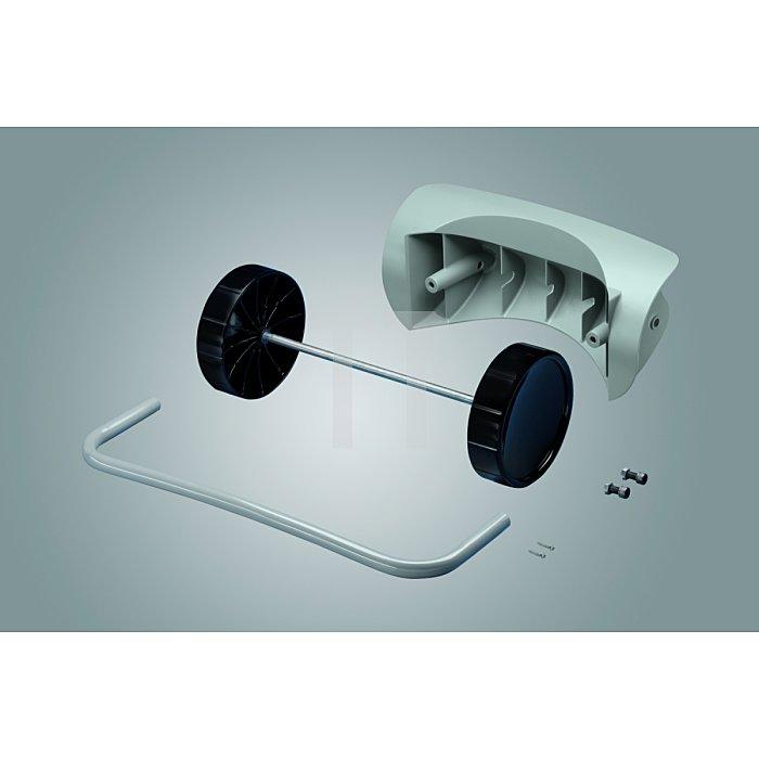 Hailo Mobil-Set für Wertstoffbehälter WSB120 Radsatz+Handgriff 0912-070