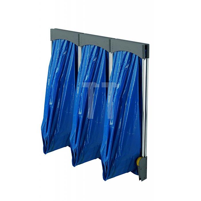 Hailo ProfiLine ASS 120WTriowandhängend Abfall-Sammel-System handbetätigt  0936-400
