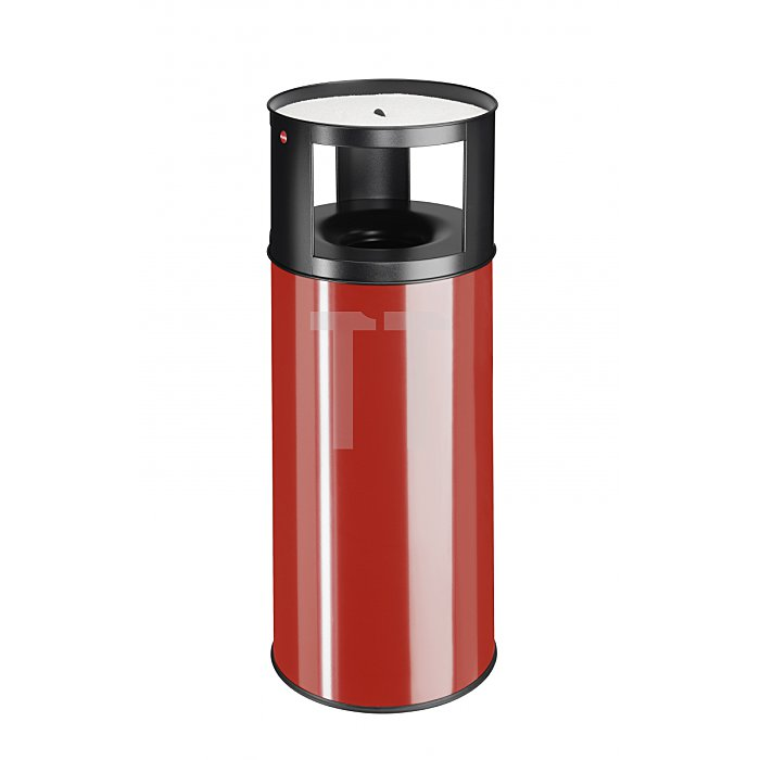 Hailo ProfiLine Care 75 Rot Ascher-Papierkorb-Kombination  0975-002