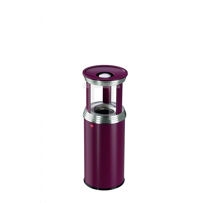 Hailo ProfiLine combi pro 20 Bordeaux-Rot Flammenlöschender Papierkorb  0920-539