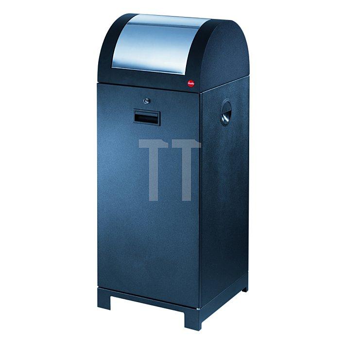 Hailo ProfiLine WSB design 70 schwarz mit Müllsackhalterung  0970-059