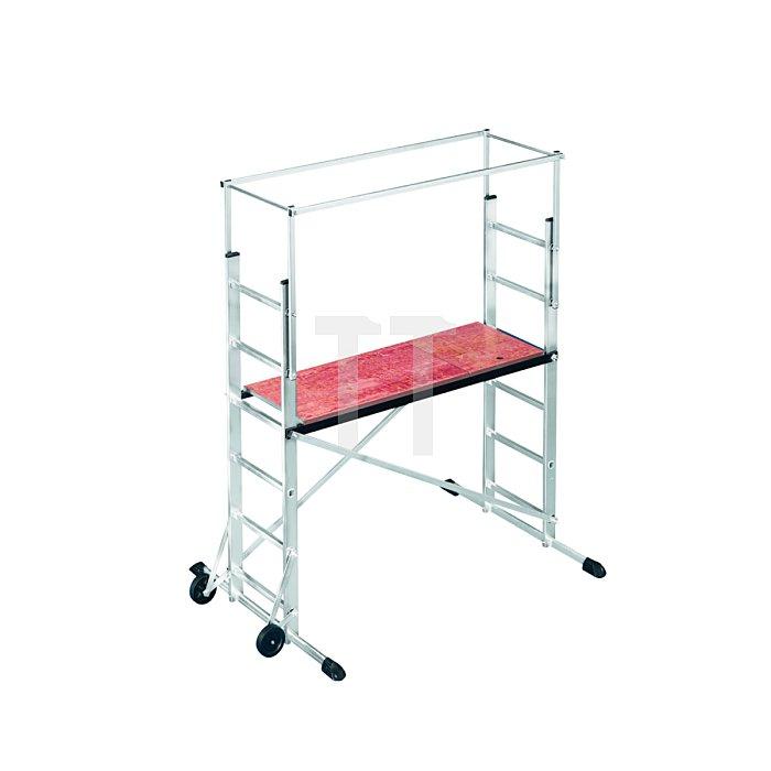 Hailo ProfiStep multi Grundelement Aluminium-Leitern-Gerüst  9476-001