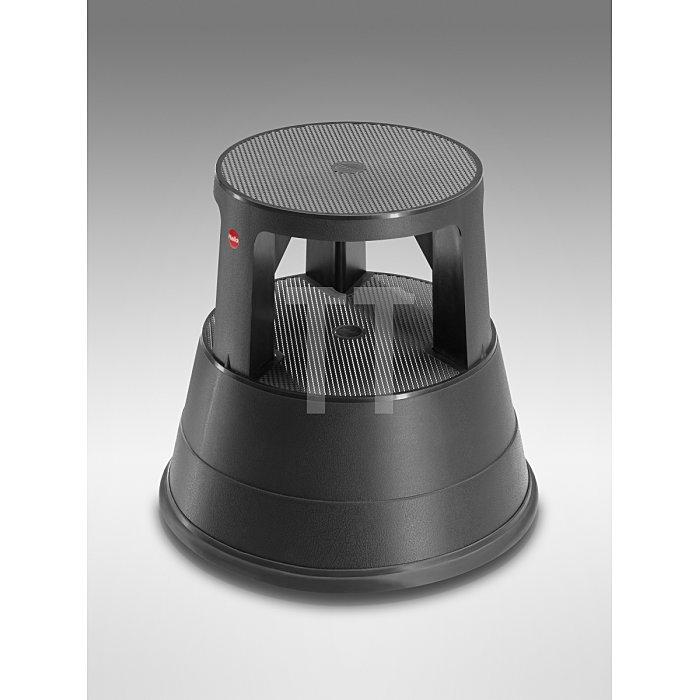 Hailo Rolltritt 220 Kunststoff zum Sitzen und Steigen schwarz 4440-001
