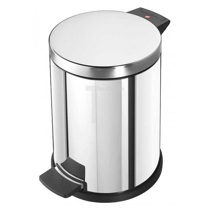 Hailo Tret-Abfallsammler ProfiLine Solid 14 Edelstahl 14 Liter Inneneimer: verzinkt 0514-019