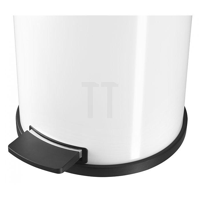 Hailo Tret-Abfallsammler ProfiLine Solid 14 silber 14 Liter Inneneimer: Kunststoff 0514-079