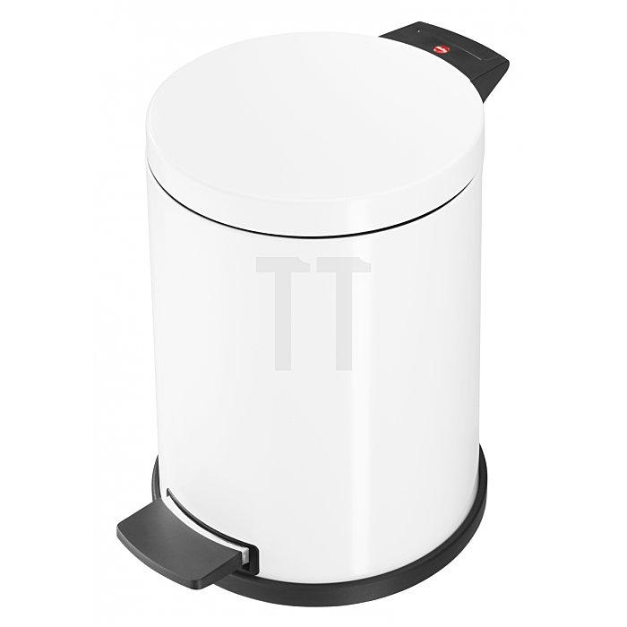 Hailo Tret-Abfallsammler ProfiLine Solid 14 weiß 14 Liter Inneneimer: verzinkt 0514-099