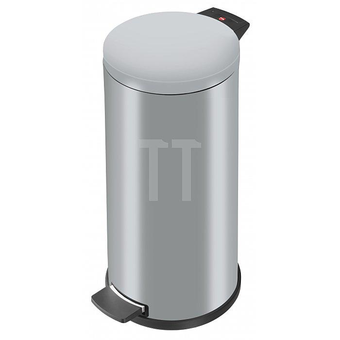 Hailo Tret-Abfallsammler ProfiLine Solid 20 silber 20 Liter Inneneimer: verzinkt 0522-070