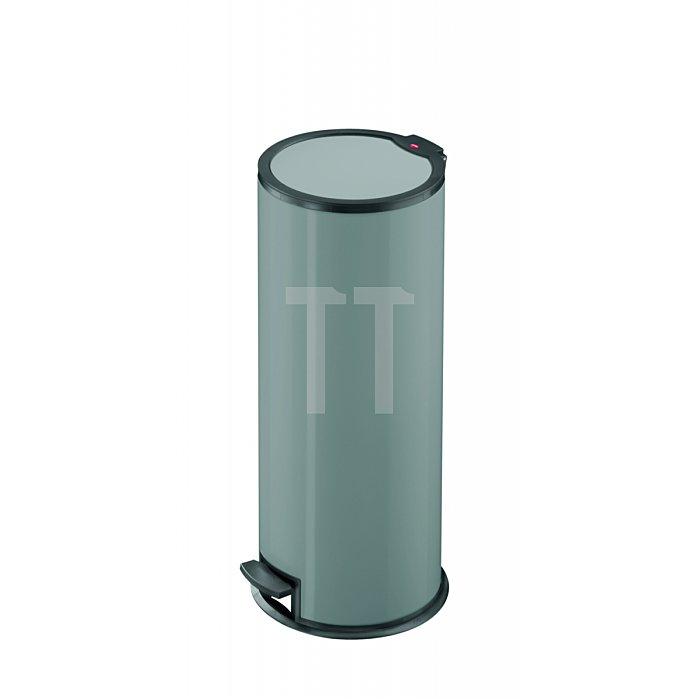 Hailo Tret-Abfallsammler T324 Stahlblech silber Inneneimer: Kunststoff 0524-112