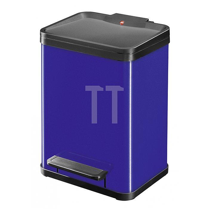 Hailo Tret-Abfalltrenner Hailo öko duo22 Blau Inneneimer: Kunststoff 0622-522