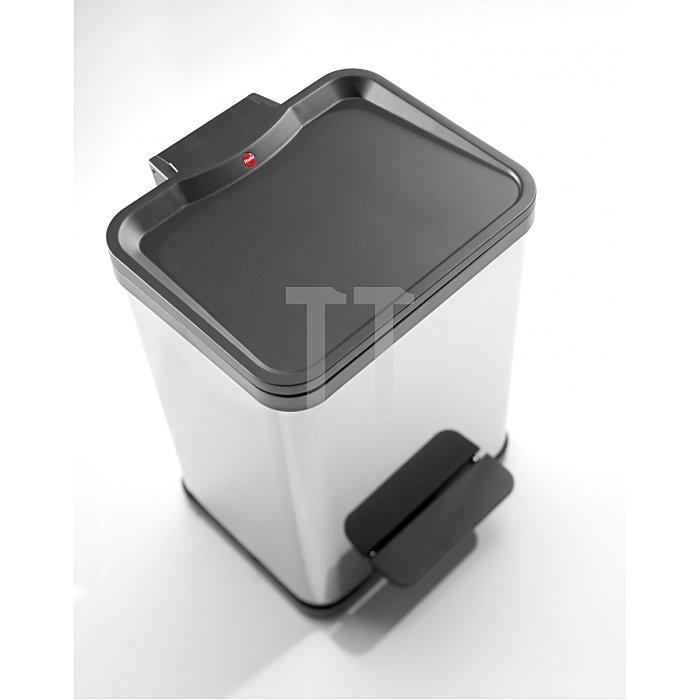 Hailo Tret-Abfalltrenner Hailo öko duo22 Platin Inneneimer: Kunststoff 0622-022