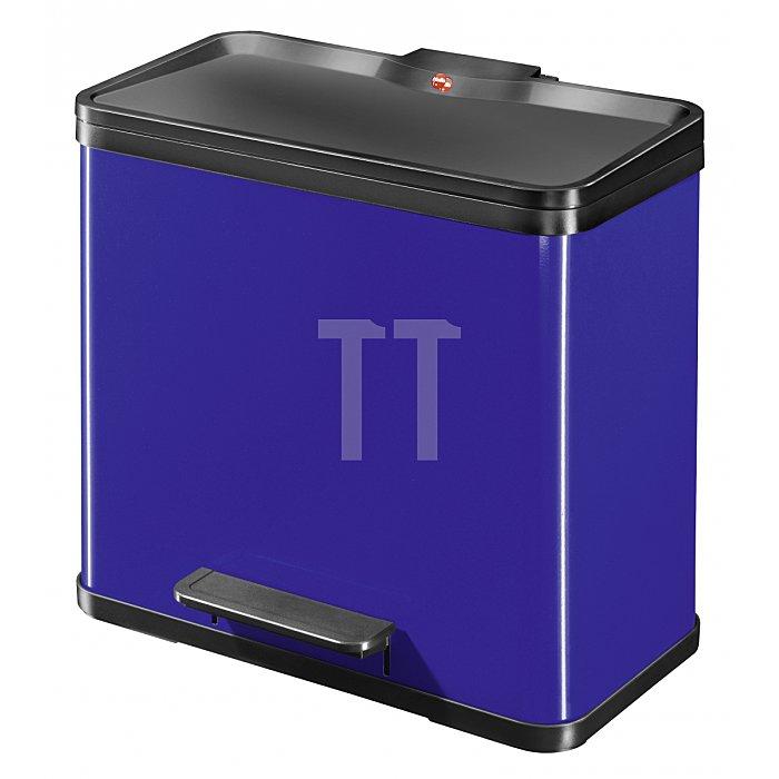 Hailo TretAbfalltrenner Hailo öko trio33 Blau Inneneimer: Kunststoff 0633-522