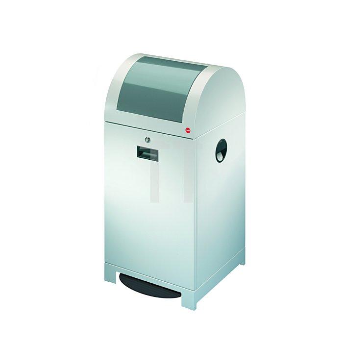 Hailo Wertstoffbehälter ProfiLine WSB 40P Weißaluminium Müllsackhalter 0942-659