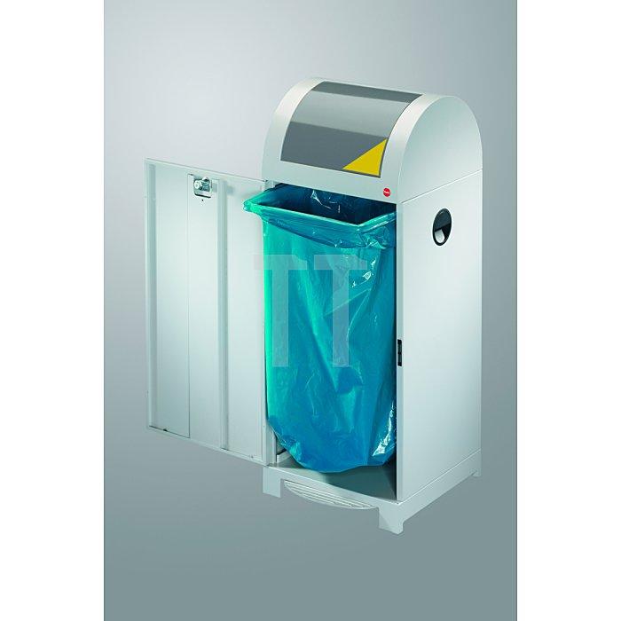 Hailo Wertstoffbehälter ProfiLine WSB 70P mit Müllsackhalterung  0972-859