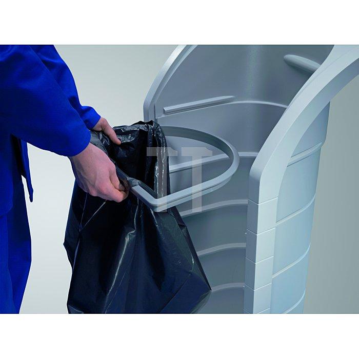 Hailo Wertstoffbehälter ProfiLine WSB120 aus Kunststoff grau  0912-060