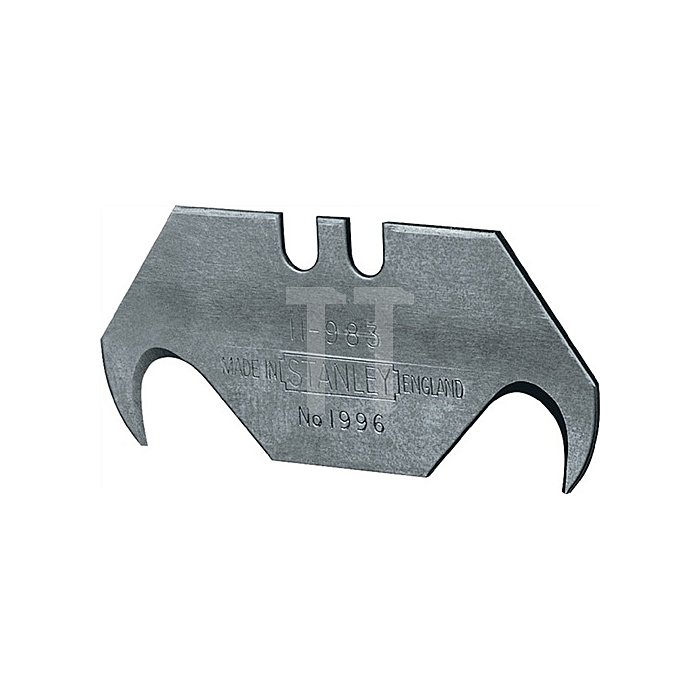 Hakenklinge 1996 L.50mm B.19mm S.0,65mm o.LochungSi.-Spender 10St./VE SB Stanley