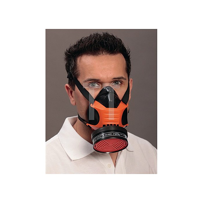 Halbmaske Polimask Gamma o.Filter EKASTU DIN EN140 f. Brillenträger