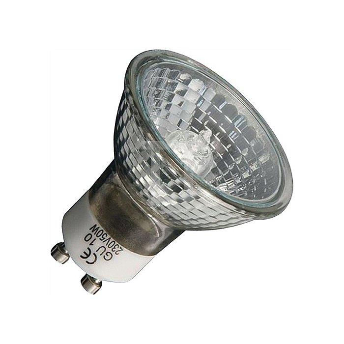 Halogen-Energiesparlampe 40W 230V klare Ausf. GU10 Sockel 800cd dimmbar