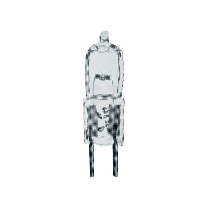 Halogen Stecklampe 20W 12V GY6,35 Quarzglas klar 10St./VE