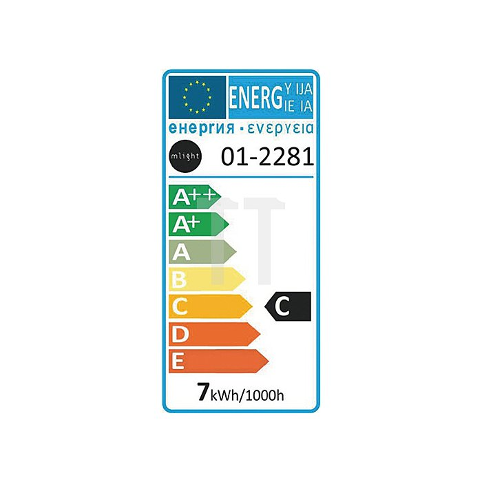 Halogen-Stecklampe 7W 12V G4 Sockel 86lm dimmbar 30% Energieersp.