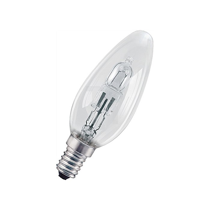 Halogenlampe 20W E14 Fassung 230V Kerzenform dimmbar 235Lm warm weiss