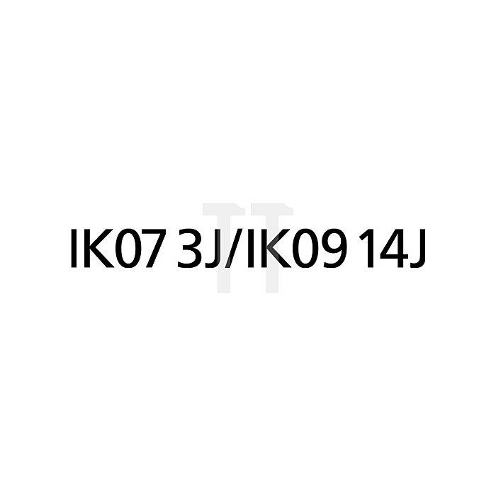 Halogenstrahler 500W m.Halogenröhre H07RN-F IP65 Kabel-L.5m
