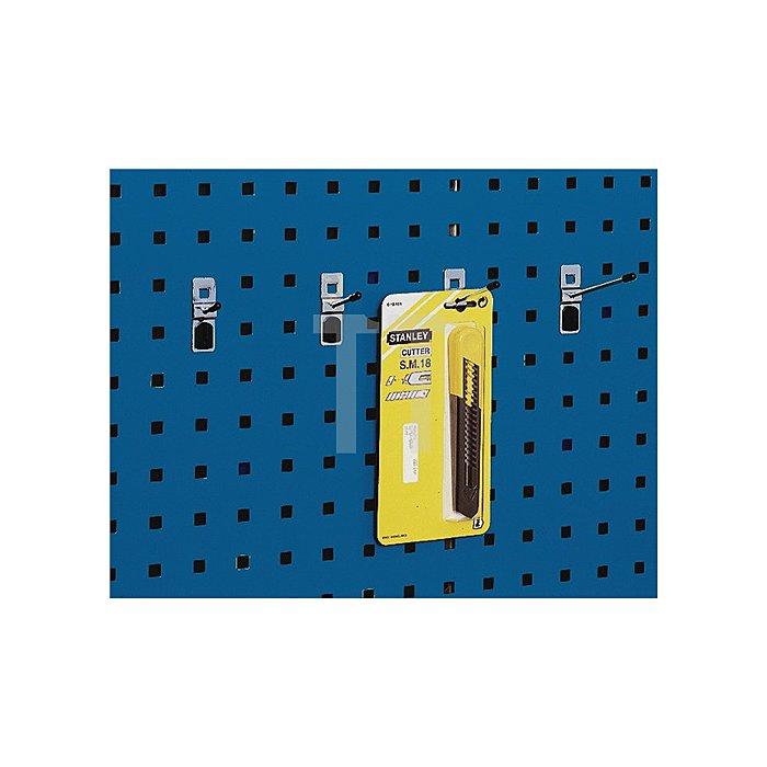 Haltestift T.100xD.4mm f.Lochplatten 5St./VE Bott