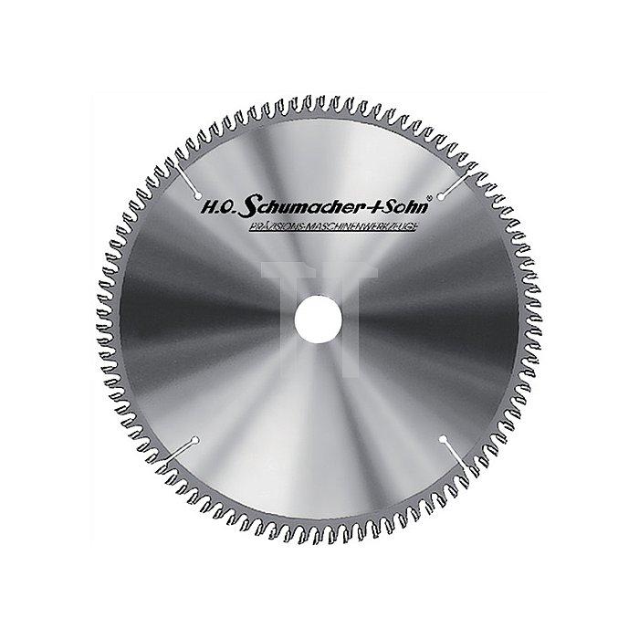 Handkreissägeblatt HW W 48Z. D.210mm B.3mm SCHUMACHER Bohrung 30mm