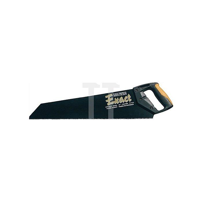 Handsäge 1121 P Exact Blatt-L.450mm Verzahnung 2,3mm 2-K-Heft
