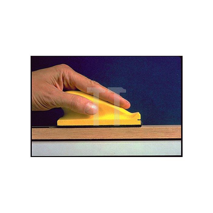 Handschleifblock Hookit 245 L.70xB.125mm weich f.Schleifstreifen 3M a.Ku.