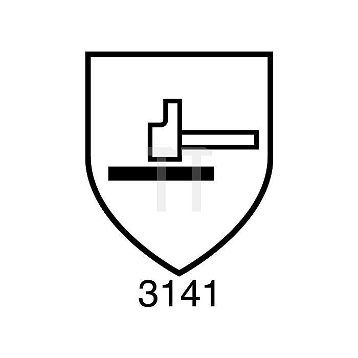 Handschuh EN 388 Kat.II Finegrip Gr.9 Schrumpf-Latex schwarz