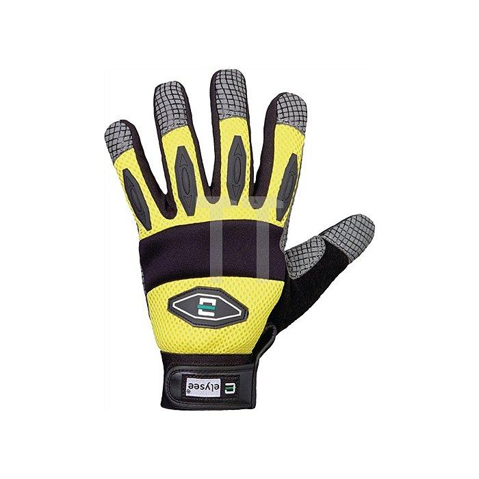 Handschuh EN 420 Kat.I Spider Gr. 11 Synthetikleder gelb/schwarz