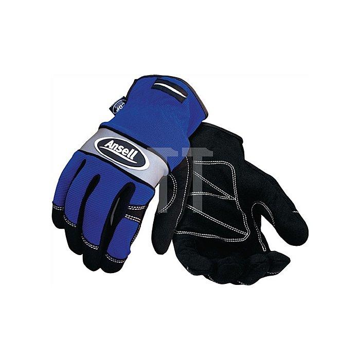 Handschuh EN388 Kat. I Projex Series# Nr. 97-507 Gr. 9 Spandex blau