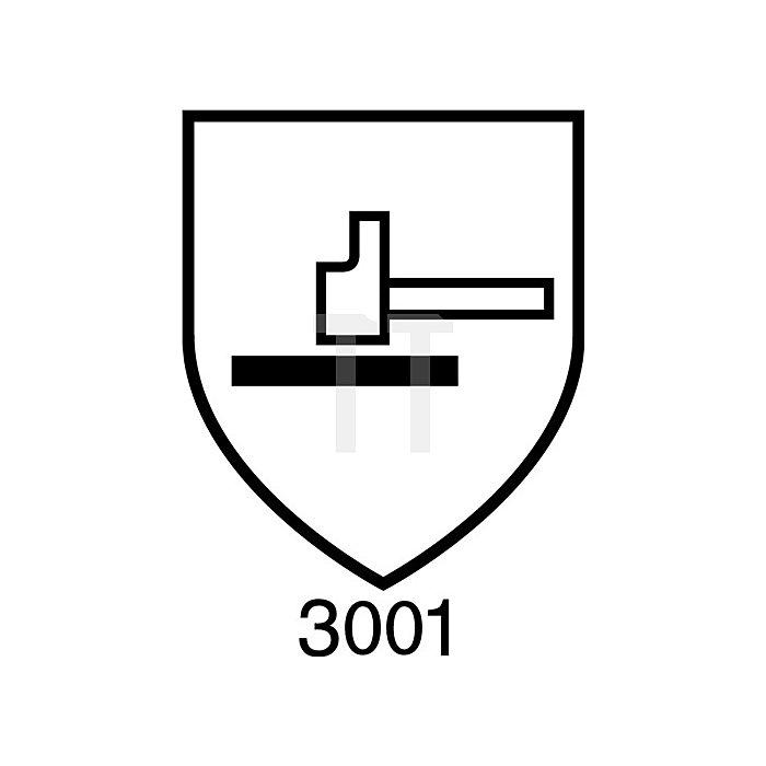 Handschuh EN388/374 Kat.III AlphaTec Nr.58-430 Gr. 9 Baumwollvelours m.Nitril