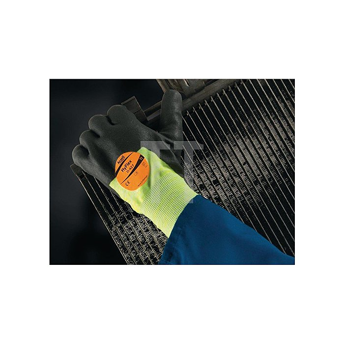 Handschuh EN388/407 Kat.II HyFlex 11-427 Gr.10 Strick m.PU-/Nitril