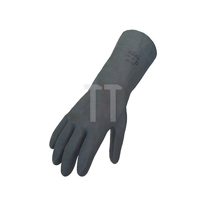 Handschuh Gr. 8 Neopren schwarz EN388/374 Kat. III