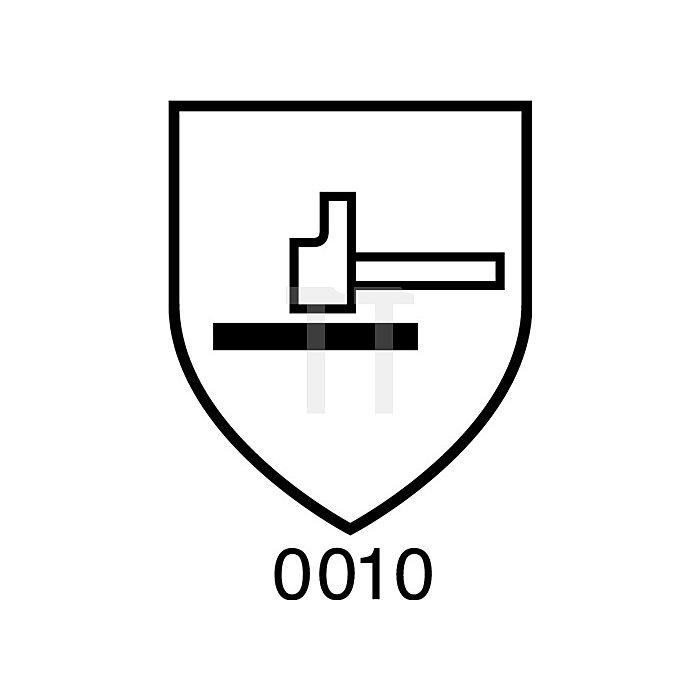Handschuhe Butoject 898 Gr.8 schwarz Chemikalienschutz KCL m.Rollrand