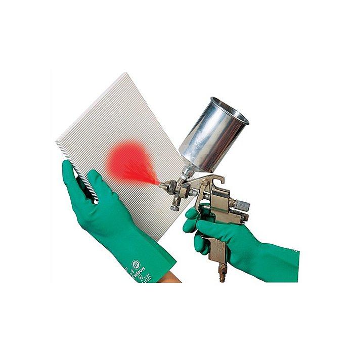 Handschuhe Camatril 730 Gr.10 L.310mm Nitril KCL velourisiert
