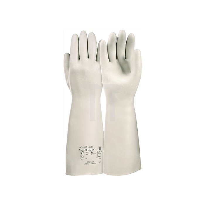 Handschuhe Combilatex 395 Gr.10 L.400mm KCL beige