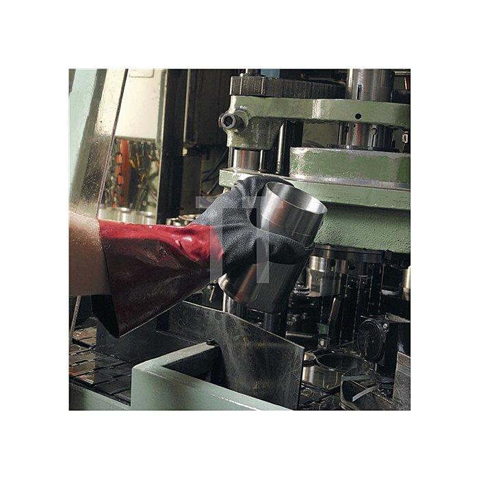 Handschuhe EN388/374 Kat.III AlphaTec 58-530 Gr.9 Acryl m.Nitril schwarz/weinrot