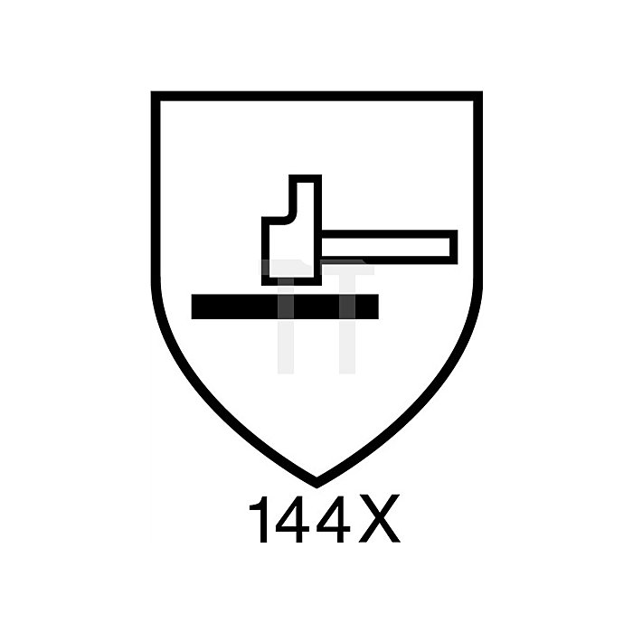 Handschuhe EN388/407 Kat.II Neptune Kevlar 70-215 Gr.9 Kelvar gelb Strickbund