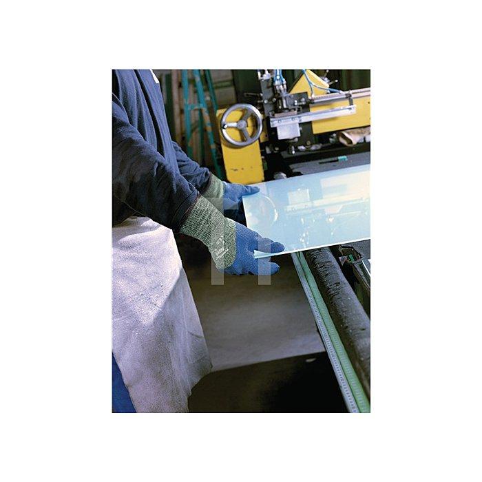 Handschuhe EN388/407 Kat.II PowerFlex 80-658 Gr. 9 Stahl Glasfaser Kevlar