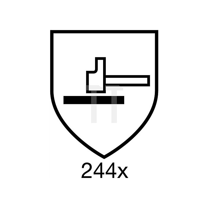 Handschuhe EN388/407 Kat.II Vantage 70-761 Gr. 9 Nylon/Acryl/Kevlar graugrün