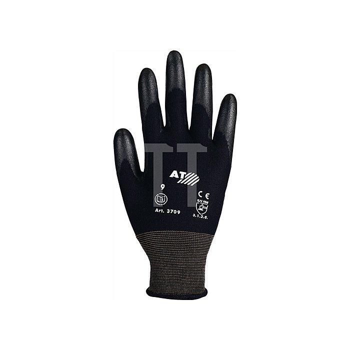 Handschuhe Gr.9 PU-teilbesch. flüssigkeitsabweisend EN388 Kat.II